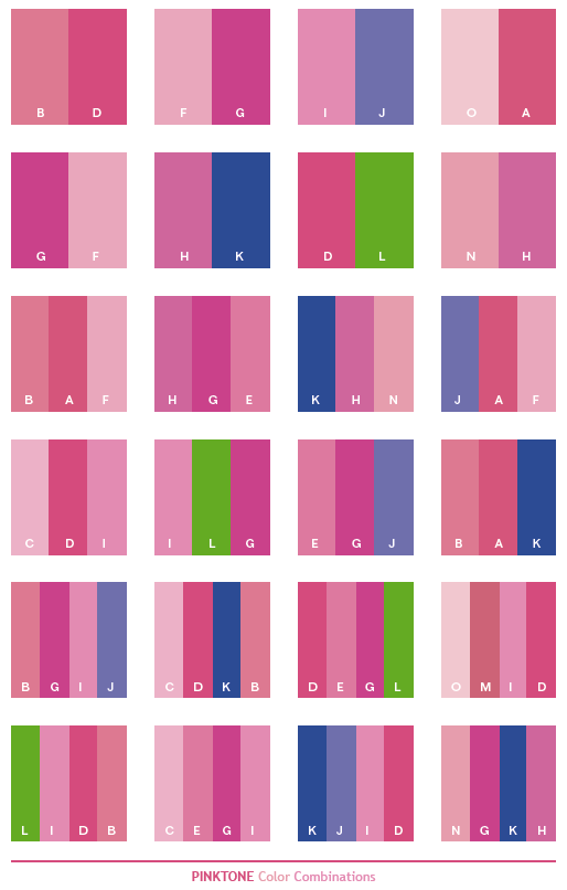 pink-tone-color-combinations