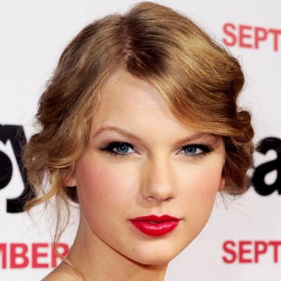 celebrity red lip
