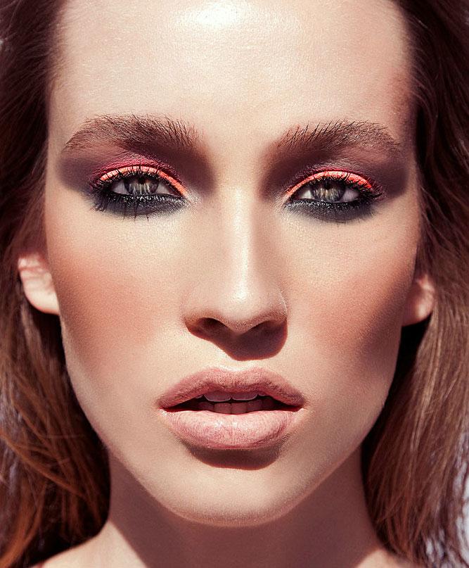orange-blac-eye-makeup